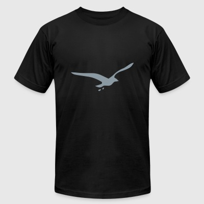 seagull - Men's T-Shirt by American Apparel