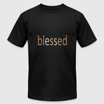 blessed 05 - Men's T-Shirt by American Apparel