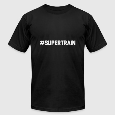 SUPERTRAIN - Men's T-Shirt by American Apparel