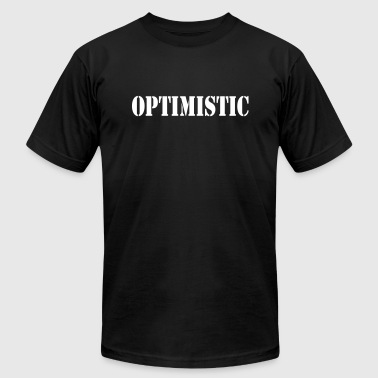 OPTIMISTIC - Men's T-Shirt by American Apparel
