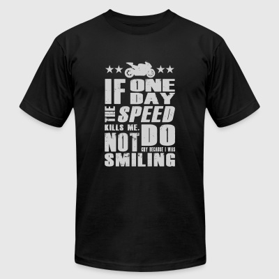 Smiling 4 - Men's T-Shirt by American Apparel