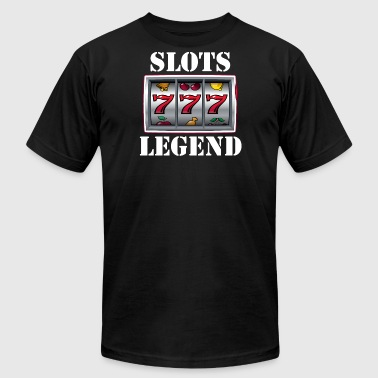 Slots Legend - Men's Fine Jersey T-Shirt