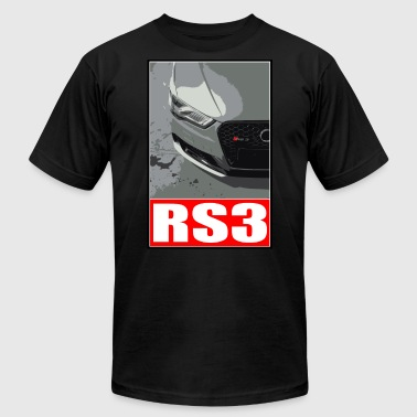 Audi RS3 - Men's T-Shirt by American Apparel