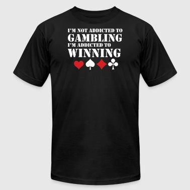 Addicted To Winning - Men's Fine Jersey T-Shirt