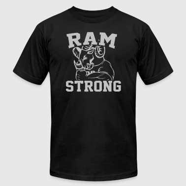 Ram Strong - Men's T-Shirt by American Apparel