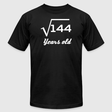 Square Root Of 144 12 Years Old - Men's T-Shirt by American Apparel