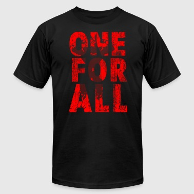 One For All - Men's Fine Jersey T-Shirt