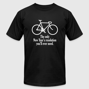 resolution - Men's Fine Jersey T-Shirt