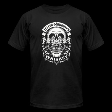 ANARCHY BRAND WHISKEY - Men's Fine Jersey T-Shirt