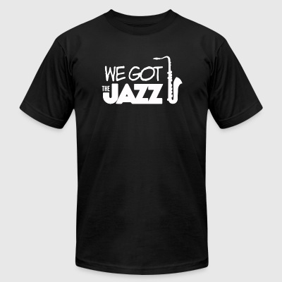 Jazz - We got the jazz! - Men's T-Shirt by American Apparel