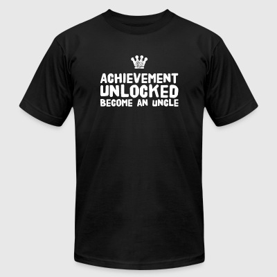 Uncle - Achievement Unlocked Become An Uncle - Men's T-Shirt by American Apparel