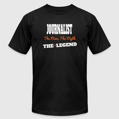 JOURNALIST - JOURNALIST The Man The Myth The Leg - Men's T-Shirt by American Apparel