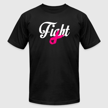 Breast Cancer - Fight Breast Cancer Awareness - Men's T-Shirt by American Apparel
