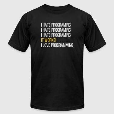 Programmer - Programmer - Men's T-Shirt by American Apparel