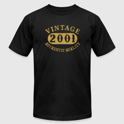 2001 - 16 years old 16th B-day Birthday Gift Vin - Men's T-Shirt by American Apparel