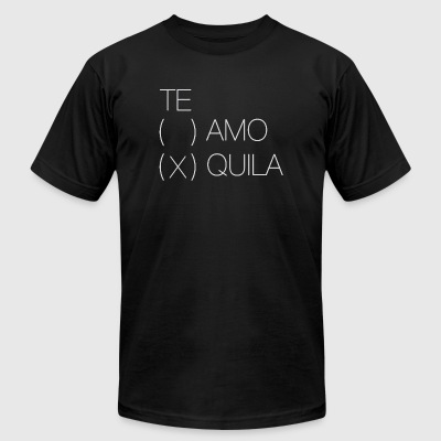 Drinking - Te amo? Tequila! Design - Men's T-Shirt by American Apparel