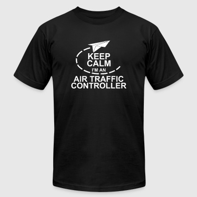 Controller - Keep Calm I'm An Air Traffic Contro - Men's T-Shirt by American Apparel