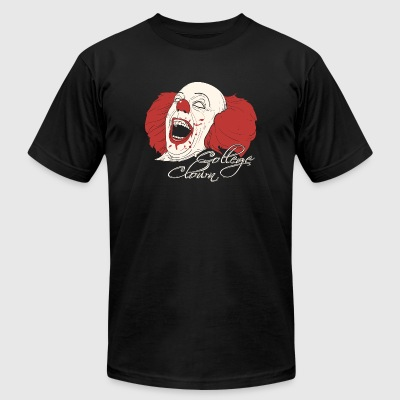 Clown - College Clowning - Men's T-Shirt by American Apparel