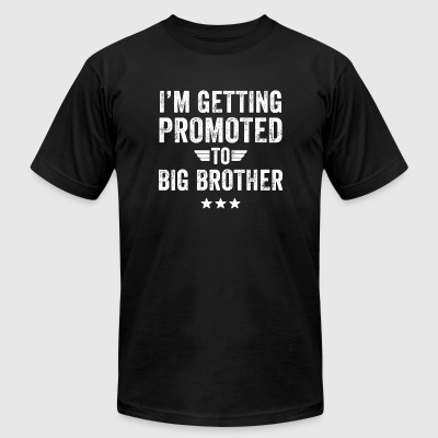 Brother - I'm getting promoted to big brother - Men's T-Shirt by American Apparel