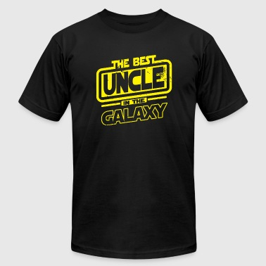 Uncle - The Best Uncle In The Galaxy - Men's Fine Jersey T-Shirt