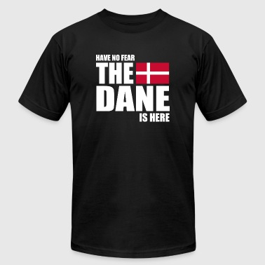 Danish - Danish - Have No Fear The Dane Is Here - Men's T-Shirt by American Apparel