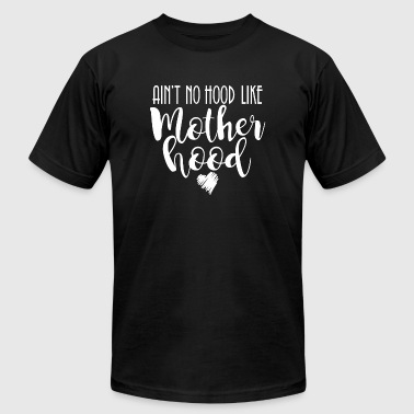 Motherhood - Ain't No Hood Like Motherhood Arrow - Men's Fine Jersey T-Shirt