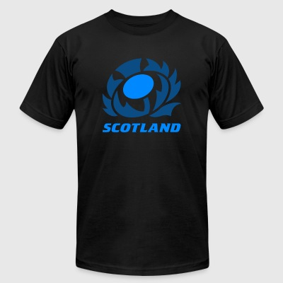 Scotland Scotland Thistle - Men's T-Shirt by American Apparel