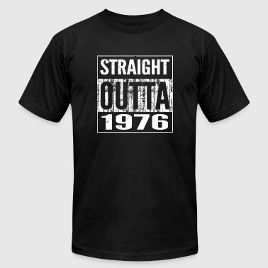 1976 - Straight Outta 1976 Funny 41th Birthday G - Men's T-Shirt by American Apparel