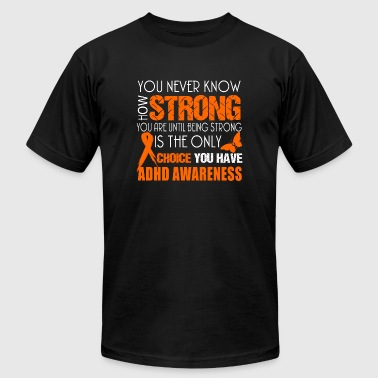 Awareness - you never know how strong - Men's Fine Jersey T-Shirt