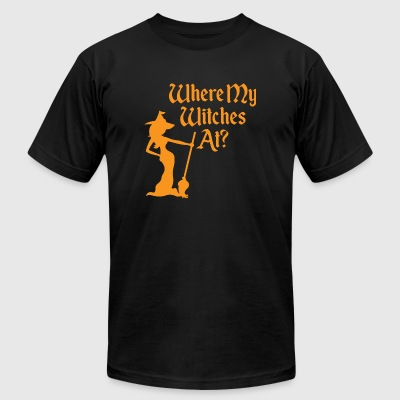 Witche - Where My Witches At? - Men's T-Shirt by American Apparel