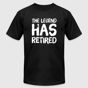 Retired - The legend has retired - Men's Fine Jersey T-Shirt