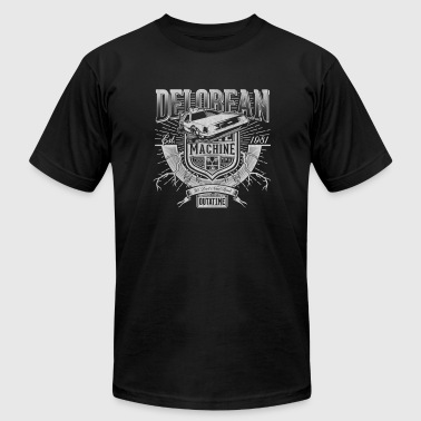 Delorean machine - We don't need roads - Men's Fine Jersey T-Shirt