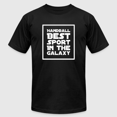 Handball - Handball Best Sport in the Galaxy - Men's T-Shirt by American Apparel