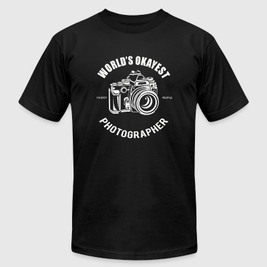 Photographer - Wold's Okayest Photographer - Men's T-Shirt by American Apparel