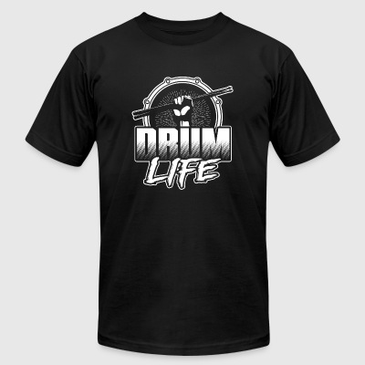 Drum player - Drum life T-shirt - Men's T-Shirt by American Apparel