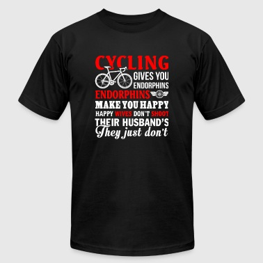 Cycling - Cycling T Shirt - Men's T-Shirt by American Apparel