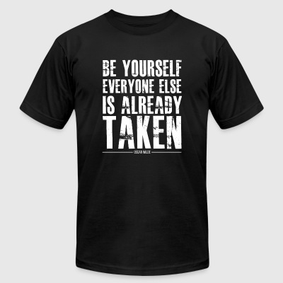 Motivation - Be yourself - Men's T-Shirt by American Apparel
