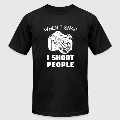 Photographer - Funny Photographer Funny Photogra - Men's T-Shirt by American Apparel