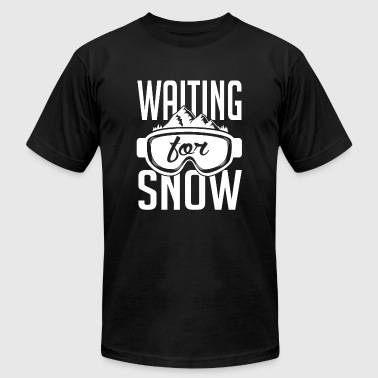 Skiing - Skiing: Waiting for snow - Men's Fine Jersey T-Shirt