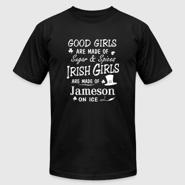 Irish - Good Irish Girls Are Made Of Sugar And S - Men's T-Shirt by American Apparel