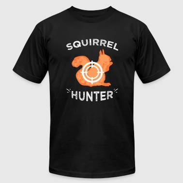 Squirrel hunter - Squirrel Hunter - Men's T-Shirt by American Apparel