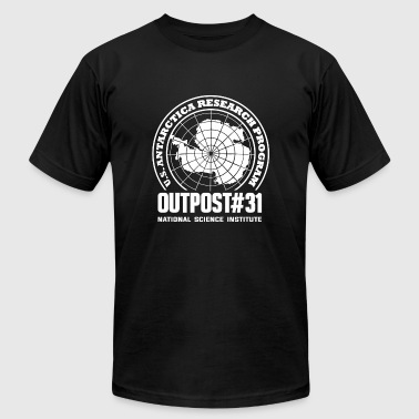 Outpost - Outpost - outpost 31 national science - Men's T-Shirt by American Apparel