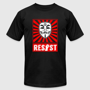 Resist - Resist - Men's T-Shirt by American Apparel