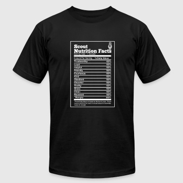 Scout nutrition facts - Hungry trustworthy loyal - Men's Fine Jersey T-Shirt
