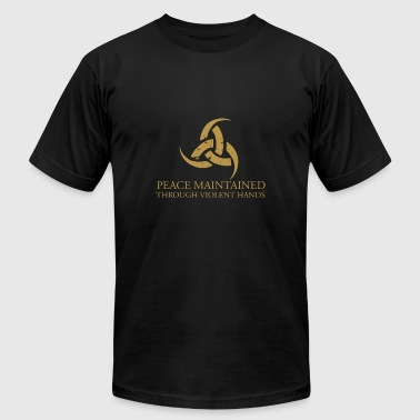 Steam Workshop - The Triple-Horn of Odin Viking - Men's T-Shirt by American Apparel
