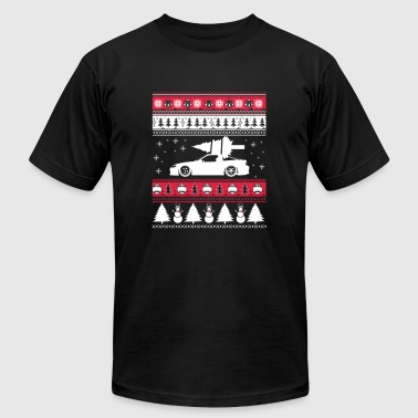 Ugly Christmas sweater for car lover - Men's Fine Jersey T-Shirt