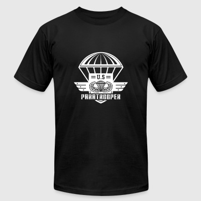Paratrooper - us paratrooper - paratrooper lover - Men's T-Shirt by American Apparel