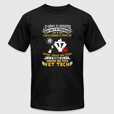 Vettech - it cannot be inherited nor can it be p - Men's T-Shirt by American Apparel