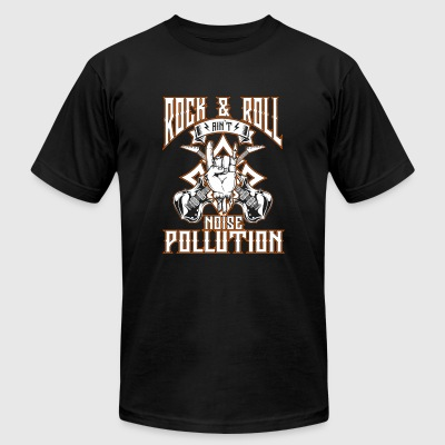 Rock and roll music - Ain't noise pollution - Men's T-Shirt by American Apparel