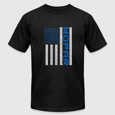 Mopar - mopar flag T shirt - Men's T-Shirt by American Apparel